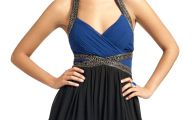 Black And Blue Dress 38 Background