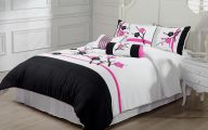 Black And Pink Bedspreads 37 Background