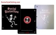 Black And Red Notebooks 17 Background