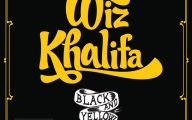 Black And Yellow Wiz Khalifa 6 Hd Wallpaper