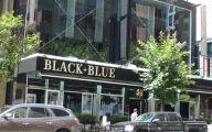 Black & Blue Restaurant 1 Widescreen Wallpaper