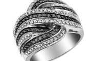 Black Silver Ring 20 Wide Wallpaper