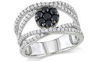 Black Silver Ring 34 Desktop Background