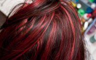 Hair Color Black And Red 12 Desktop Background