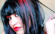 Hair Color Black And Red 13 High Resolution Wallpaper