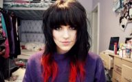 Hair Color Black And Red 15 Desktop Background