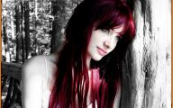 Hair Color Black And Red 2 Free Wallpaper