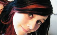 Hair Color Black And Red 22 Hd Wallpaper