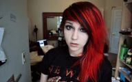 Hair Color Black And Red 33 Widescreen Wallpaper