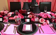Pink And Black Decorations 1 Background