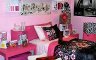 Pink And Black Decorations 19 Background Wallpaper