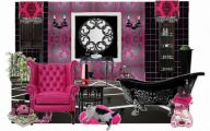 Pink And Black Decorations 4 Wide Wallpaper