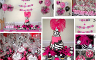 Pink And Black Party Decorations 13 Free Hd Wallpaper