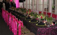 Pink And Black Party Decorations 15 High Resolution Wallpaper