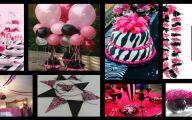 Pink And Black Party Decorations 28 Wide Wallpaper