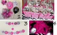 Pink And Black Party Decorations 34 Hd Wallpaper