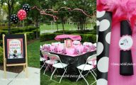 Pink And Black Party Decorations 37 Background Wallpaper