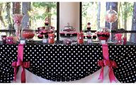 Pink And Black Party Decorations 4 Desktop Background