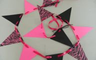 Pink And Black Party Decorations 40 Background