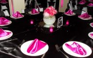 Pink And Black Party Decorations 41 Desktop Wallpaper