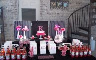 Pink And Black Party Decorations 6 High Resolution Wallpaper