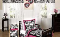 Pink And Black Zebra Bedding 12 Background Wallpaper