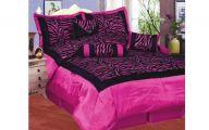 Pink And Black Zebra Bedding 14 Hd Wallpaper