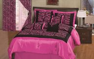 Pink And Black Zebra Bedding 18 High Resolution Wallpaper