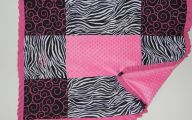 Pink And Black Zebra Bedding 24 Wide Wallpaper