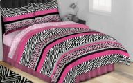 Pink And Black Zebra Bedding 31 Background Wallpaper