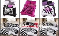 Pink And Black Zebra Bedding 42 Desktop Wallpaper