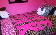 Pink And Black Zebra Bedding 7 Background Wallpaper