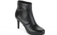 Plain Black Boots 1 Desktop Background