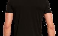Plain Black T Shirt 5 Desktop Wallpaper