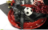 Red And Black Football 23 Widescreen Wallpaper