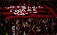 Red And Black Football 30 Widescreen Wallpaper