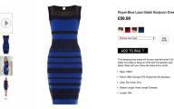 Black And Blue Dress Original 23 Desktop Background