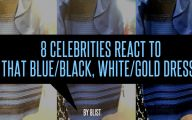 Black And Blue White And Gold Dress 8 Wide Wallpaper