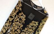 Black And Gold Dresses For Women 10 Background