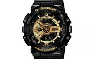 Black And Gold G Shock 12 Widescreen Wallpaper