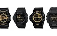 Black And Gold G Shock 16 High Resolution Wallpaper