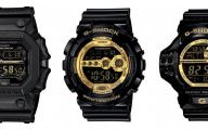 Black And Gold G Shock 17 Hd Wallpaper