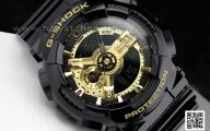 Black And Gold G Shock 22 Hd Wallpaper