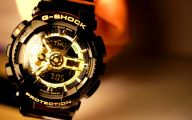 Black And Gold G Shock 24 Free Wallpaper