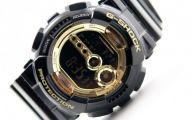 Black And Gold G Shock 31 Free Hd Wallpaper