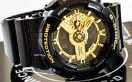 Black And Gold G Shock 34 Desktop Wallpaper