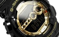 Black And Gold G Shock 37 Hd Wallpaper