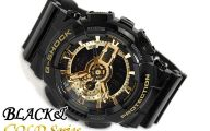 Black And Gold G Shock 38 Free Hd Wallpaper