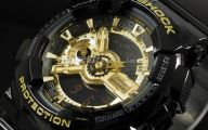 Black And Gold G Shock 4 Free Wallpaper
