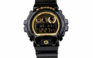 Black And Gold G Shock 5 Desktop Background